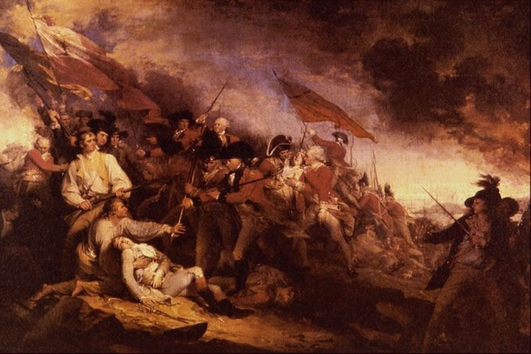 The Battle of Bunker Hill took place in Charlestown in 1775.