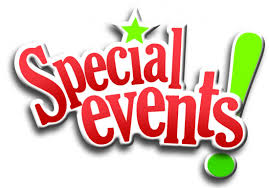 Click here to see special events.